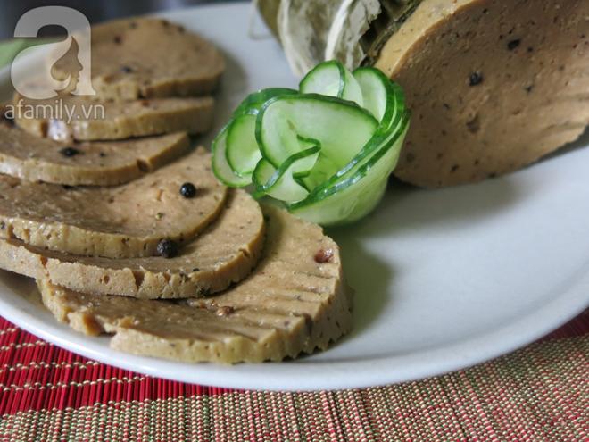 Học cách làm chả lụa và một số món chay ngon từ mỳ căn - Ảnh 6.