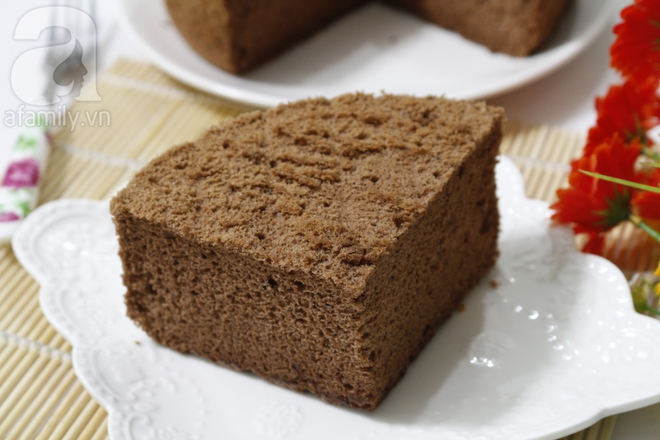 Công thức làm cốt bánh gato chocolate đơn giản mà mềm mịn bất ngờ - Ảnh 8.