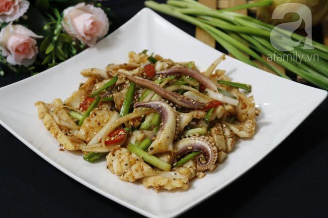 Học ngay cách làm salad mực kiểu Hàn ngon giòn siêu hấp dẫn - Ảnh 7.