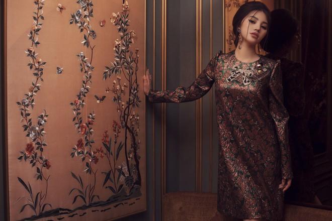 Hoa hậu con nhà giàu Jolie Nguyễn đẹp quyến rũ đến khó cưỡng với phong cách cổ điển - Ảnh 9.
