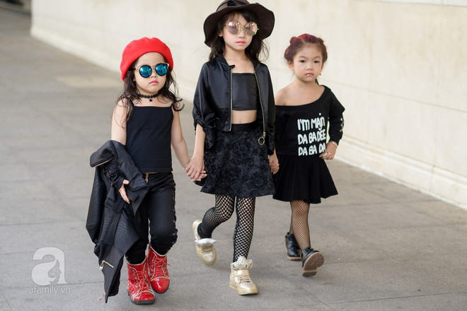 Tổng kết VIFW: Nổi bật nhất là street style vừa cool ngầu vừa yêu của loạt fashionista nhí  - Ảnh 12.