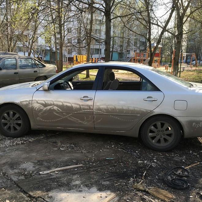 Đừng vội lau bụi bẩn trên ô tô, chúng có thể trở thành tác phẩm nghệ thuật độc đáo như thế này - Ảnh 12.