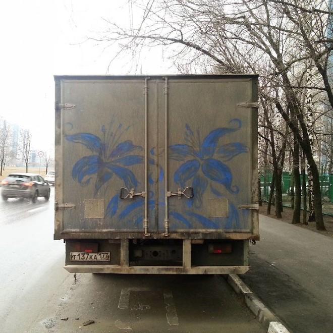 Đừng vội lau bụi bẩn trên ô tô, chúng có thể trở thành tác phẩm nghệ thuật độc đáo như thế này - Ảnh 5.