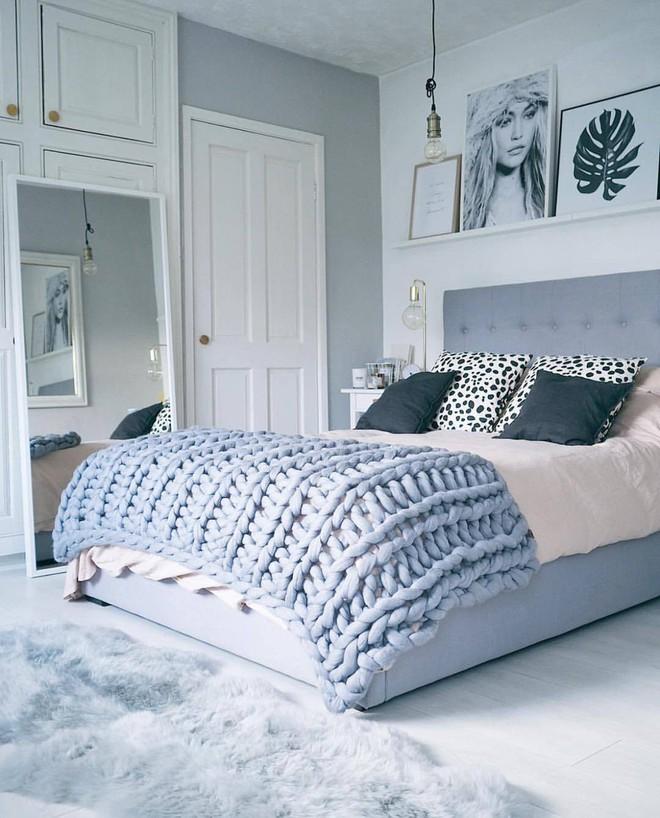Những mẫu phòng ngủ mùa đông nhìn là thấy ấm - Ảnh 9.