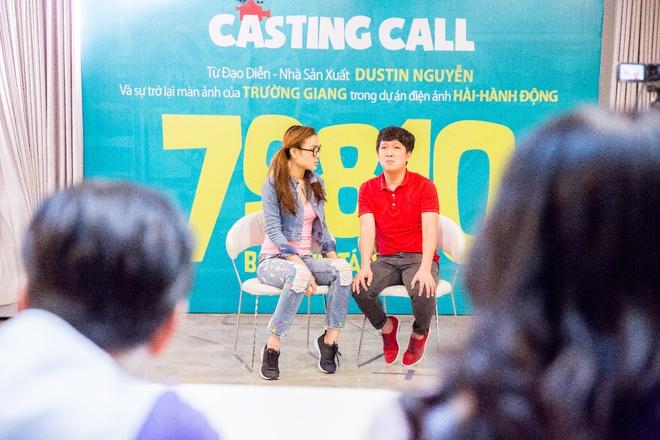 Dustin Nguyễn ngồi bệt đất xem Trường Giang làm khó người đẹp - Ảnh 2.