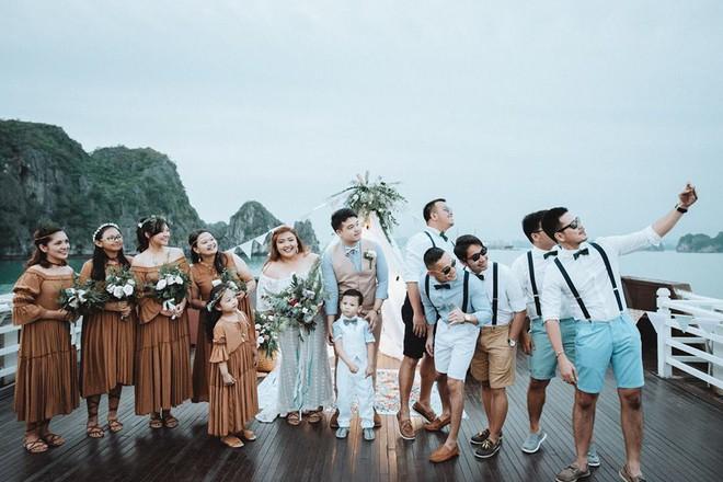 Đám cưới du thuyền đẹp mơ màng giữa sóng nước Hạ Long của cô dâu Philippines không ngại chủ động tìm kiếm tình yêu - Ảnh 16.