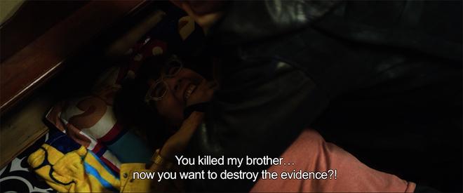 Vợ chồng Thu Trang - Tiến Luật la hét, đánh nhau tơi tả trên giường  - Ảnh 6.