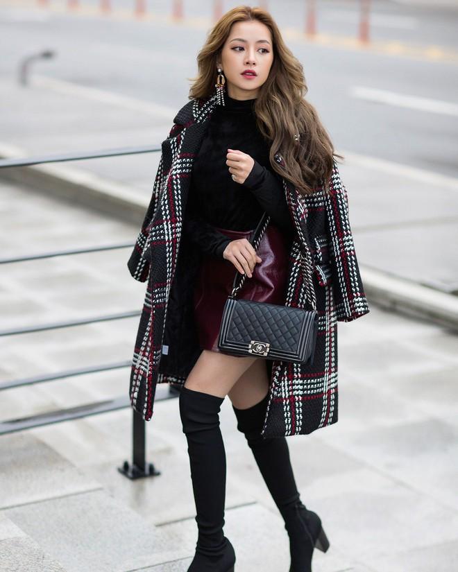 Lấn át hết mọi loại khác, boots cao đến đầu gối trở thành món đồ được diện nhiều nhất trong mùa đông năm nay - Ảnh 6.