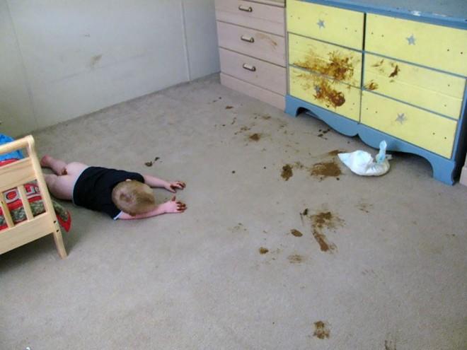 Đừng bao giờ để lũ trẻ ở nhà một mình nếu không muốn chứng kiến những cảnh dở khóc dở cười này - Ảnh 9.