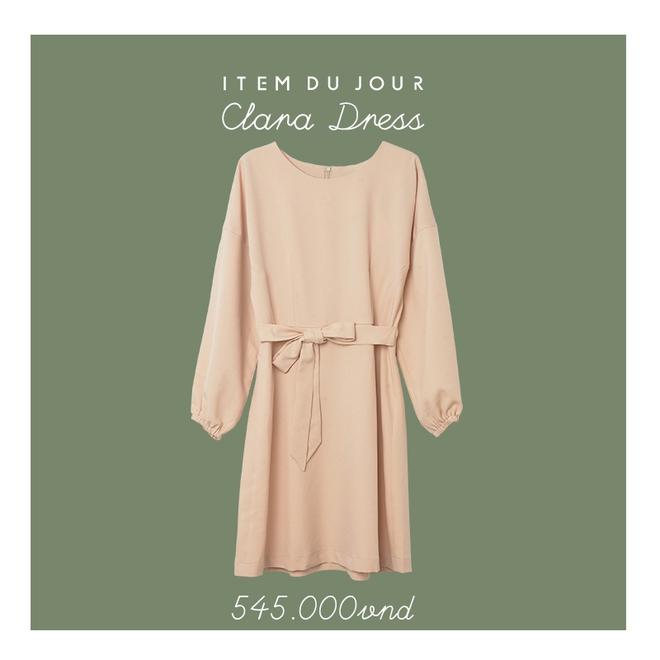 Đón thu ngọt ngào cùng những thiết kế váy liền tay lỡ mà giá chưa đến 700 ngàn đến từ các thương hiệu Việt - Ảnh 4.