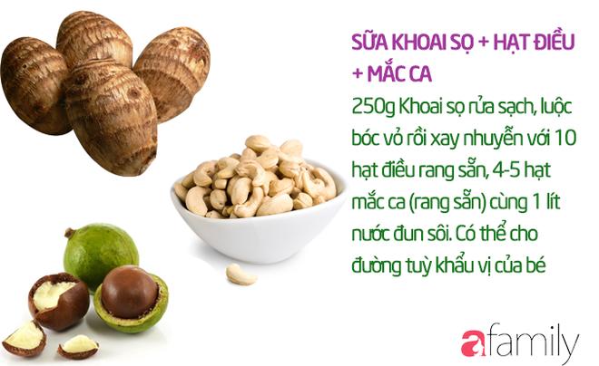 19 công thức làm sữa hạt thơm ngon giúp con tăng cân mà không bị rối loạn tiêu hóa - Ảnh 13.