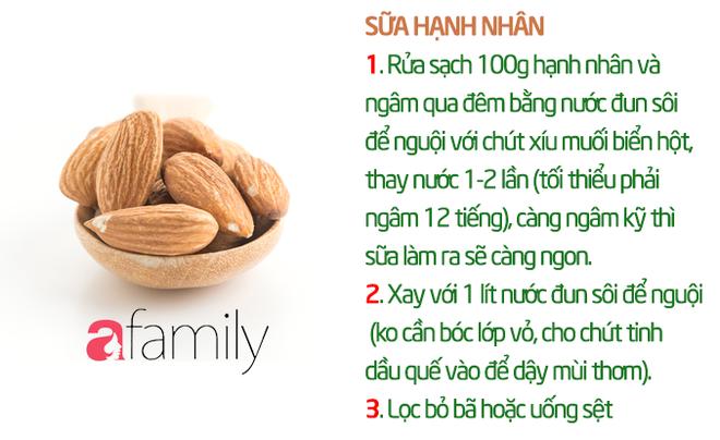 19 công thức làm sữa hạt thơm ngon giúp con tăng cân mà không bị rối loạn tiêu hóa - Ảnh 15.