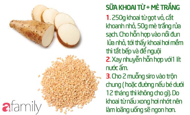 19 công thức làm sữa hạt thơm ngon giúp con tăng cân mà không bị rối loạn tiêu hóa - Ảnh 17.