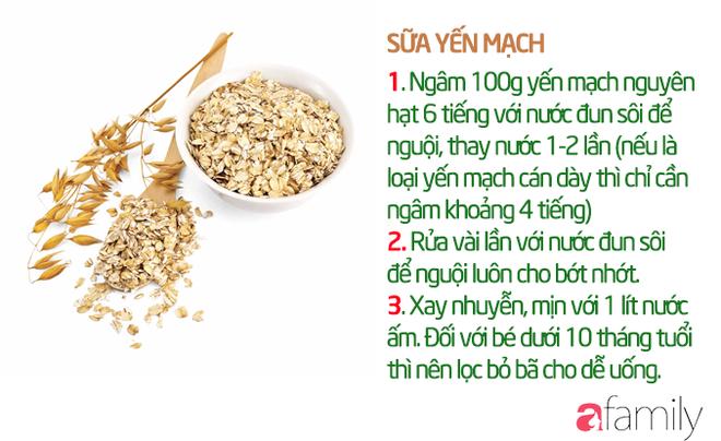 19 công thức làm sữa hạt thơm ngon giúp con tăng cân mà không bị rối loạn tiêu hóa - Ảnh 6.