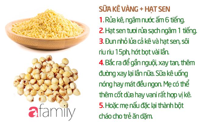 19 công thức làm sữa hạt thơm ngon giúp con tăng cân mà không bị rối loạn tiêu hóa - Ảnh 8.