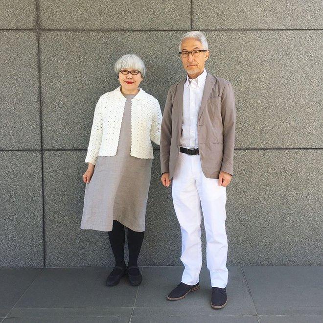 Ai cũng ước như cặp vợ chồng này, kết hôn 37 năm vẫn chăm mặc đồ đôi như ngày mới yêu - Ảnh 14.