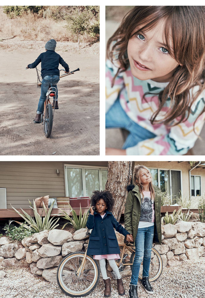 Đông này, mặc cho bé thật xinh với loạt lookbook mới nhất của Zara và H&M - Ảnh 2.