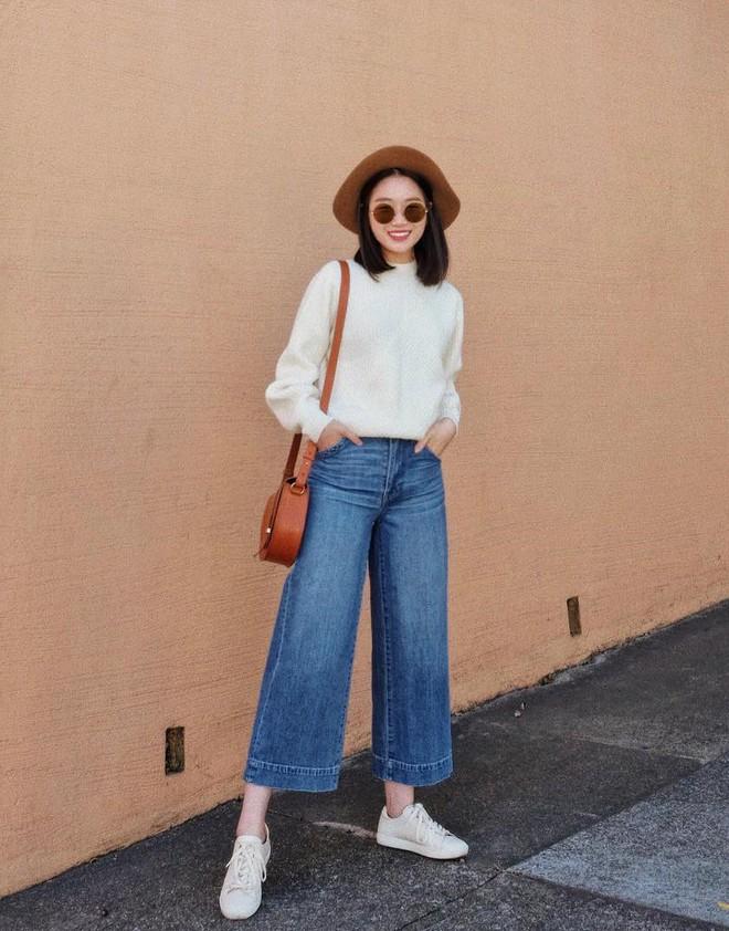 """Quên quần jeans trơn đi, còn đến 5 kiểu quần vừa đẹp vừa chất này mà các nàng nên """"bỏ túi"""" ngay - Ảnh 20."""