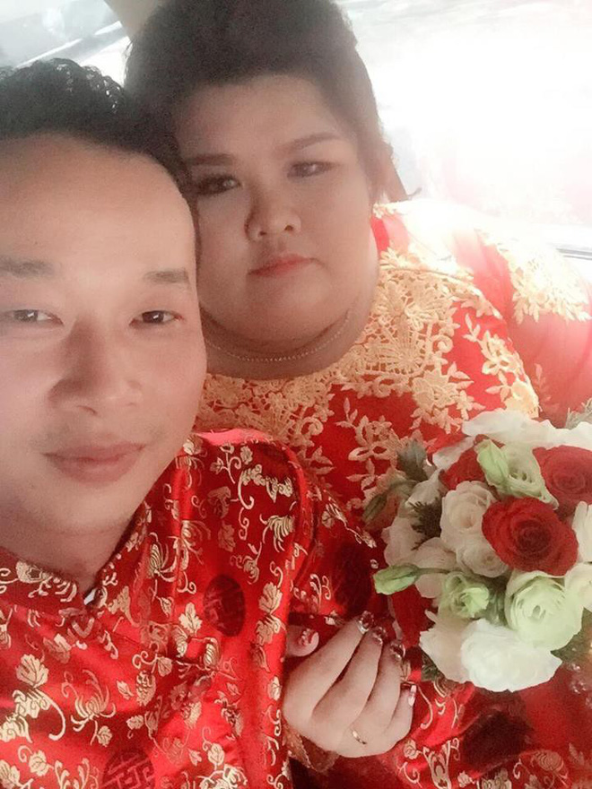 Cô vợ 9X nổi tiếng MXH vì được chồng chăm từ 90 lên 120 kg mới làm đám cưới - Ảnh 2.