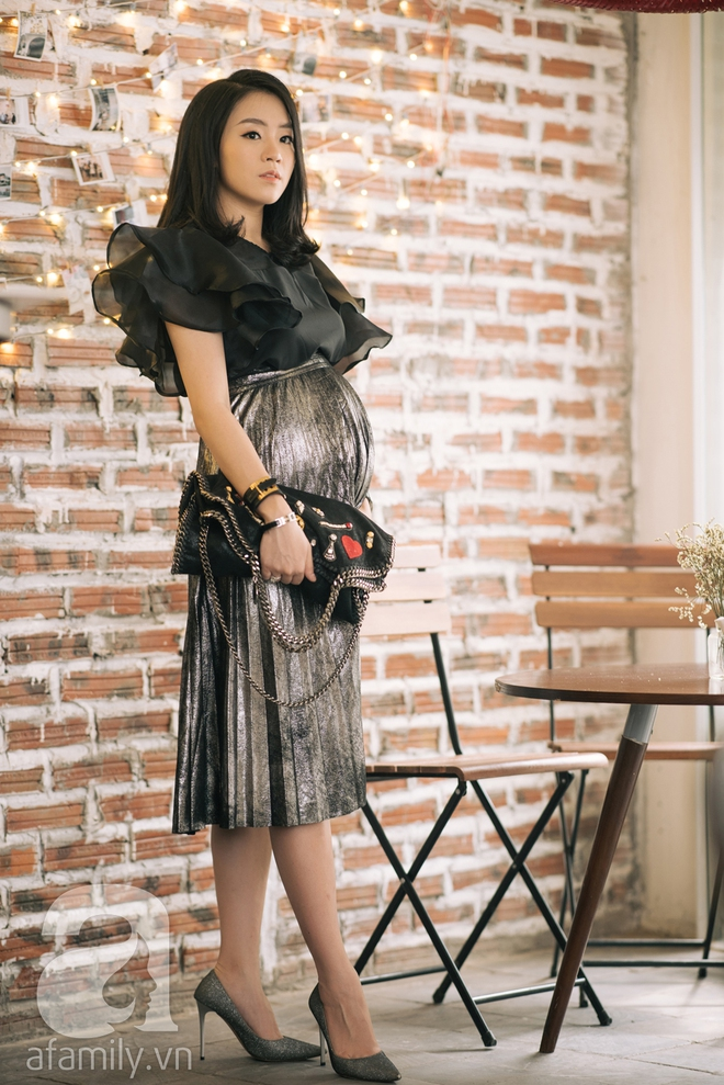 Minh Thu: Cô nàng Hoa khôi FPT ngày nào giờ đã là mẹ bầu xinh đẹp và sành điệu thế này đây! - Ảnh 15.