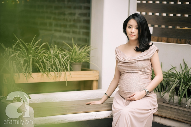 Minh Thu: Cô nàng Hoa khôi FPT ngày nào giờ đã là mẹ bầu xinh đẹp và sành điệu thế này đây! - Ảnh 2.