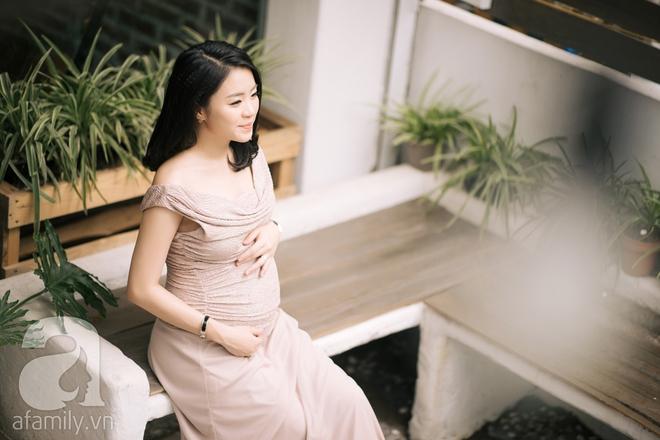 Minh Thu: Cô nàng Hoa khôi FPT ngày nào giờ đã là mẹ bầu xinh đẹp và sành điệu thế này đây! - Ảnh 3.