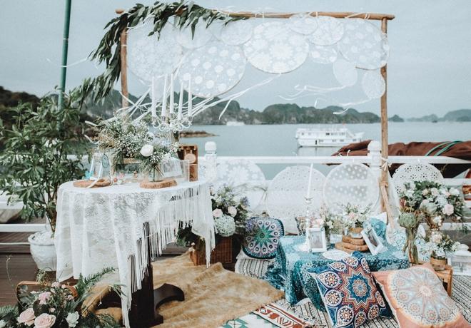 Đám cưới du thuyền đẹp mơ màng giữa sóng nước Hạ Long của cô dâu Philippines không ngại chủ động tìm kiếm tình yêu - Ảnh 5.