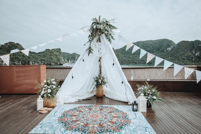 Đám cưới du thuyền đẹp mơ màng giữa sóng nước Hạ Long của cô dâu Philippines không ngại chủ động tìm kiếm tình yêu - Ảnh 4.