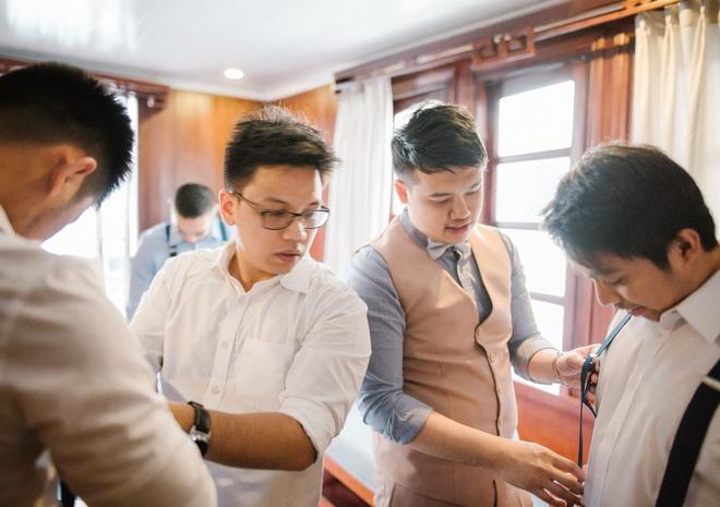 Đám cưới du thuyền đẹp mơ màng giữa sóng nước Hạ Long của cô dâu Philippines không ngại chủ động tìm kiếm tình yêu - Ảnh 24.