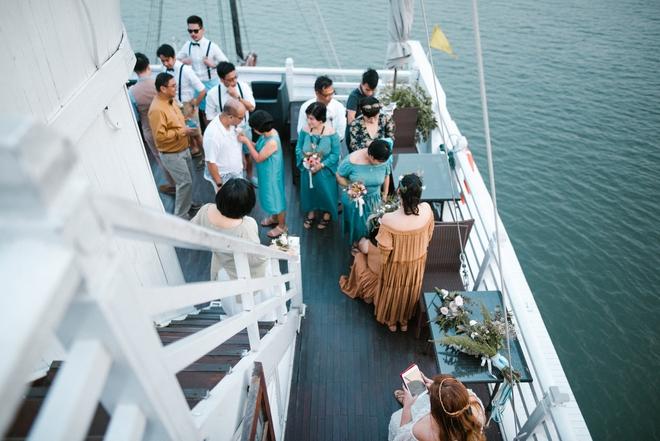 Đám cưới du thuyền đẹp mơ màng giữa sóng nước Hạ Long của cô dâu Philippines không ngại chủ động tìm kiếm tình yêu - Ảnh 17.