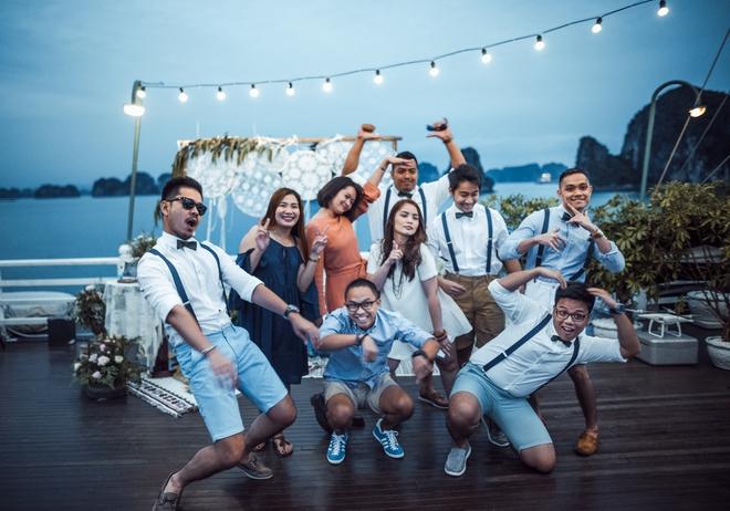 Đám cưới du thuyền đẹp mơ màng giữa sóng nước Hạ Long của cô dâu Philippines không ngại chủ động tìm kiếm tình yêu - Ảnh 18.