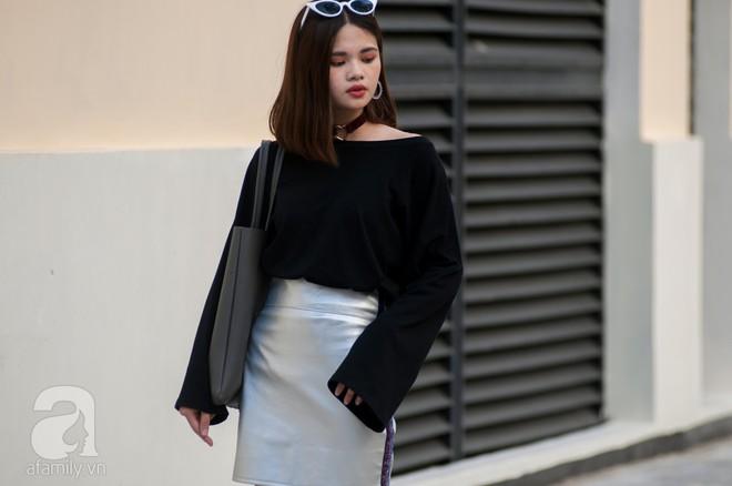 Chuyển lạnh một cái, là street style của các quý cô miền Bắc lại ngập tràn các loại áo len và áo khoác - Ảnh 10.