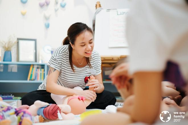 Trở về từ New Zealand, bà mẹ này đang làm thay đổi tư duy chăm sóc trẻ của gia đình Việt - Ảnh 7.