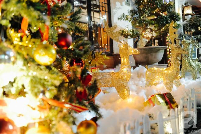 Ngắm các thiên thần nhí nghịch tuyết rơi, đón Noel sớm cùng bố mẹ trong ngày Hà Nội lạnh tái tê - ảnh 16