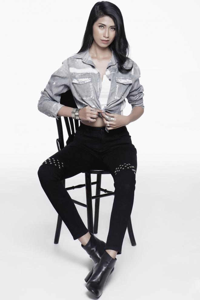 Hoàng Thuỳ, Mâu Thủy lại tiếp tục ăn đứt cả dàn thí sinh Hoa hậu Hoàn vũ ở phần thi tạo dáng chụp hình - Ảnh 7.