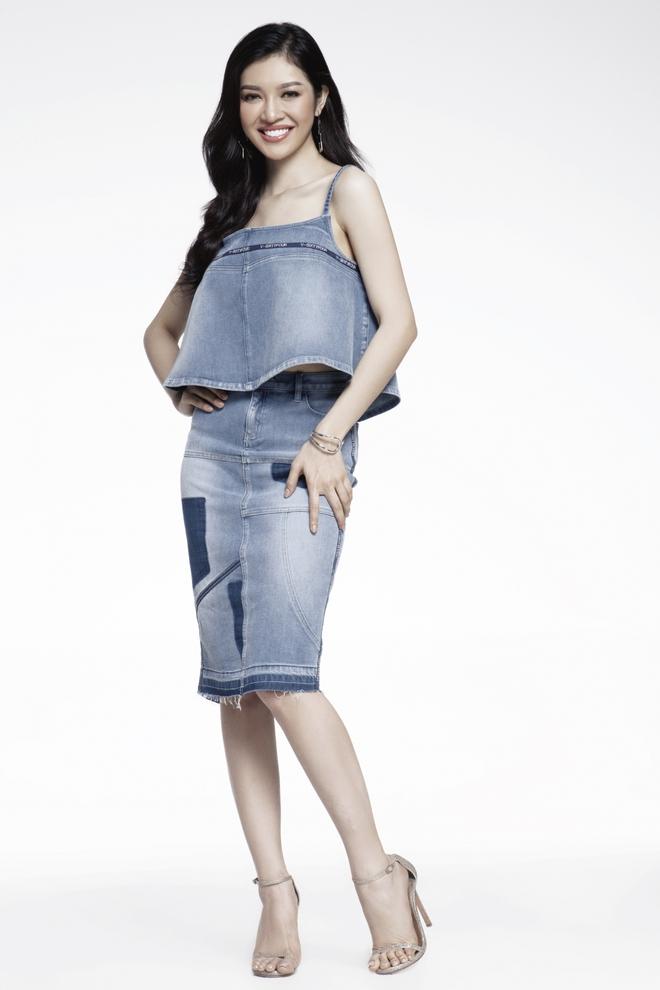 Hoàng Thuỳ, Mâu Thủy lại tiếp tục ăn đứt cả dàn thí sinh Hoa hậu Hoàn vũ ở phần thi tạo dáng chụp hình - Ảnh 8.
