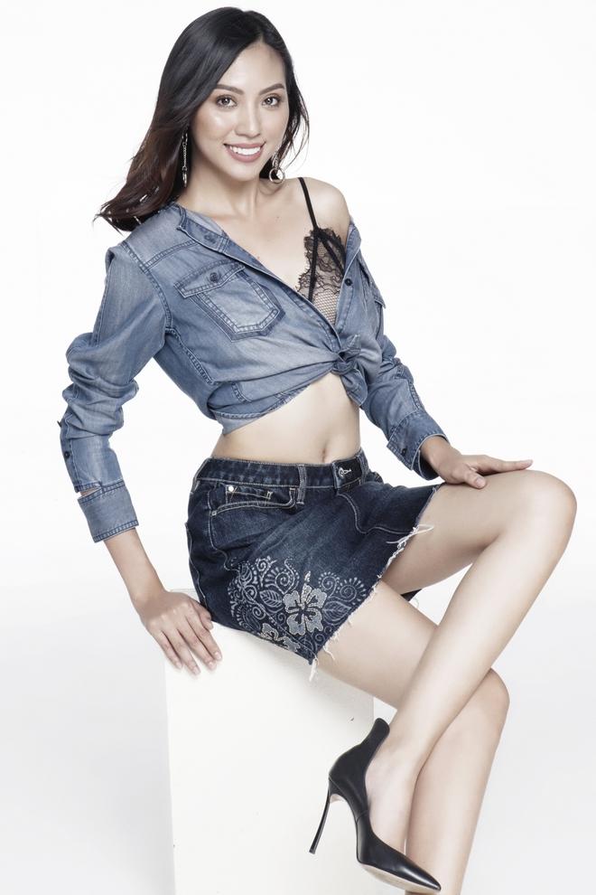 Hoàng Thuỳ, Mâu Thủy lại tiếp tục ăn đứt cả dàn thí sinh Hoa hậu Hoàn vũ ở phần thi tạo dáng chụp hình - Ảnh 9.