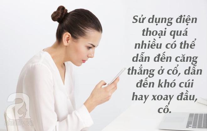 10 điều thực sự có thể xảy ra với cơ thể nếu như bạn cứ cắm mặt vào điện thoại suốt cả ngày - Ảnh 3.