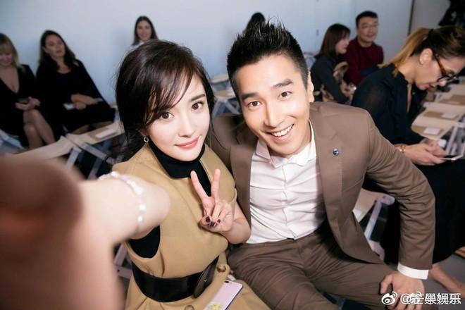 Vợ chồng Dương Mịch - Triệu Hựu Đình hội ngộ vui vẻ tại New York - Ảnh 4.