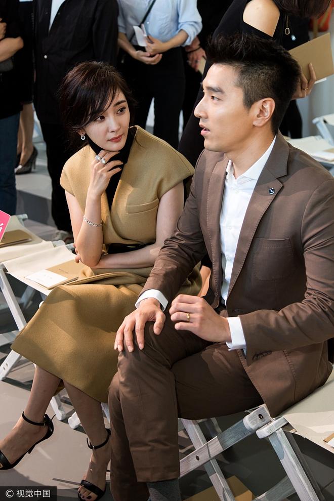 Vợ chồng Dương Mịch - Triệu Hựu Đình hội ngộ vui vẻ tại New York - Ảnh 5.