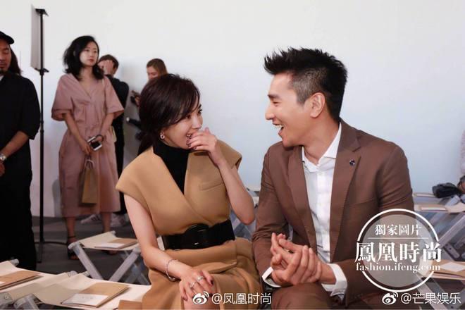 Vợ chồng Dương Mịch - Triệu Hựu Đình hội ngộ vui vẻ tại New York - Ảnh 6.