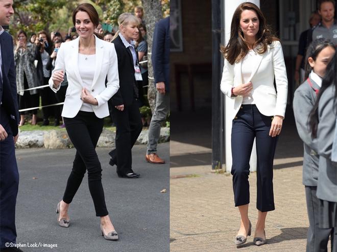 Từ năm ngoái đến năm nay mà set đồ của Công nương Kate vẫn giống y chang nhau - Ảnh 10.