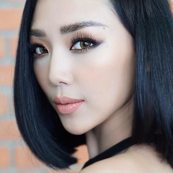 Cả showbiz Việt bây giờ toàn chạy theo phong cách trang điểm mắt đậm môi tều giống Kylie Jenner - Ảnh 18.