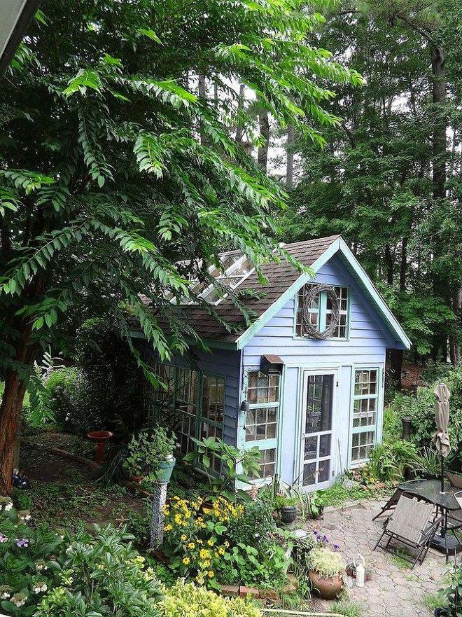 Những ngôi nhà nhỏ trong vườn khiến bạn như được lạc vào thế giới cổ tích - Ảnh 6.