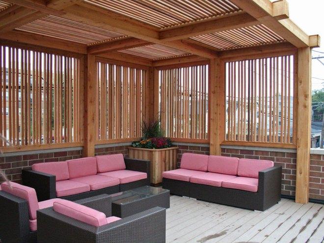 Tạo phòng khách ngoài trời đẹp như trong mơ nhờ ý tưởng trang trí sáng tạo sau - Ảnh 6.