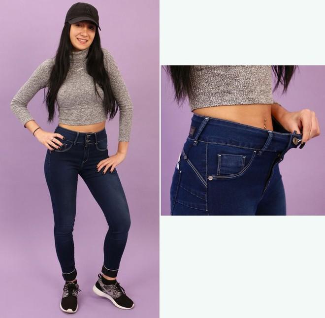 6 cô nàng này đã thử chiếc quần jeans được quảng cáo là vừa mọi kích cỡ, và kết quả nhận được thật bất ngờ - Ảnh 3.