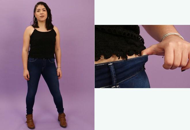 6 cô nàng này đã thử chiếc quần jeans được quảng cáo là vừa mọi kích cỡ, và kết quả nhận được thật bất ngờ - Ảnh 5.