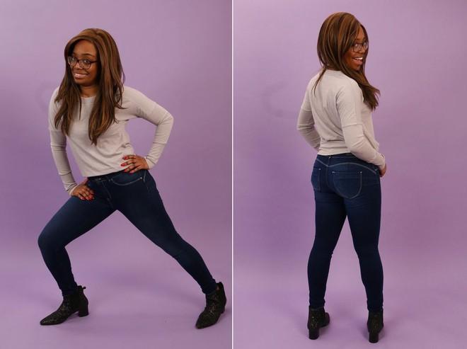 6 cô nàng này đã thử chiếc quần jeans được quảng cáo là vừa mọi kích cỡ, và kết quả nhận được thật bất ngờ - Ảnh 7.