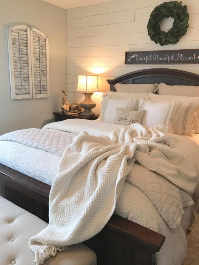 Những mẫu phòng ngủ mùa đông nhìn là thấy ấm - Ảnh 5.