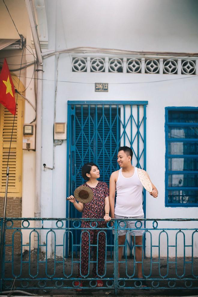 Cặp đôi có chuyện tình không giống ai và quyết định chụp bộ ảnh cưới thời bao cấp đầy bá đạo - Ảnh 13.